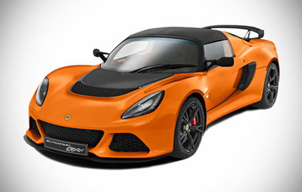 Lotus Exige S Club Racer orange